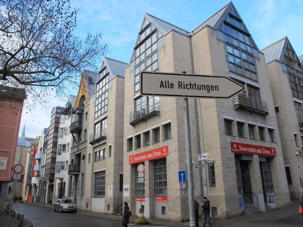 Frankfurt/Main, Saalgasse Ecke Weckmarkt (Bild:Daniel Bartetzko)