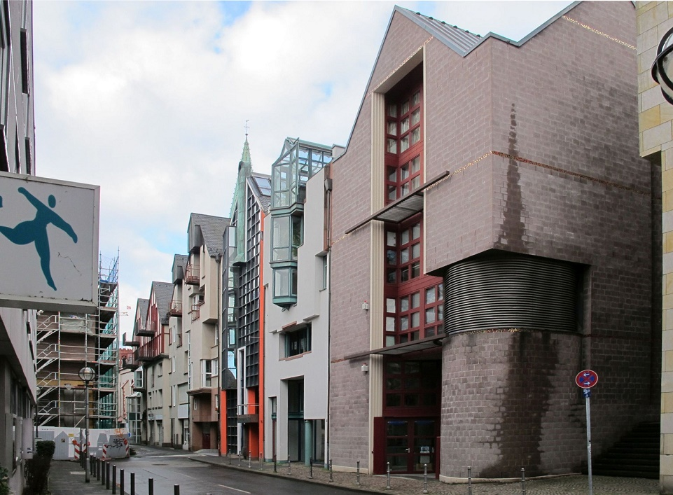 Frankfurt/Main, Saalgasse Westteil (Bild: Daniel Bartetzko)