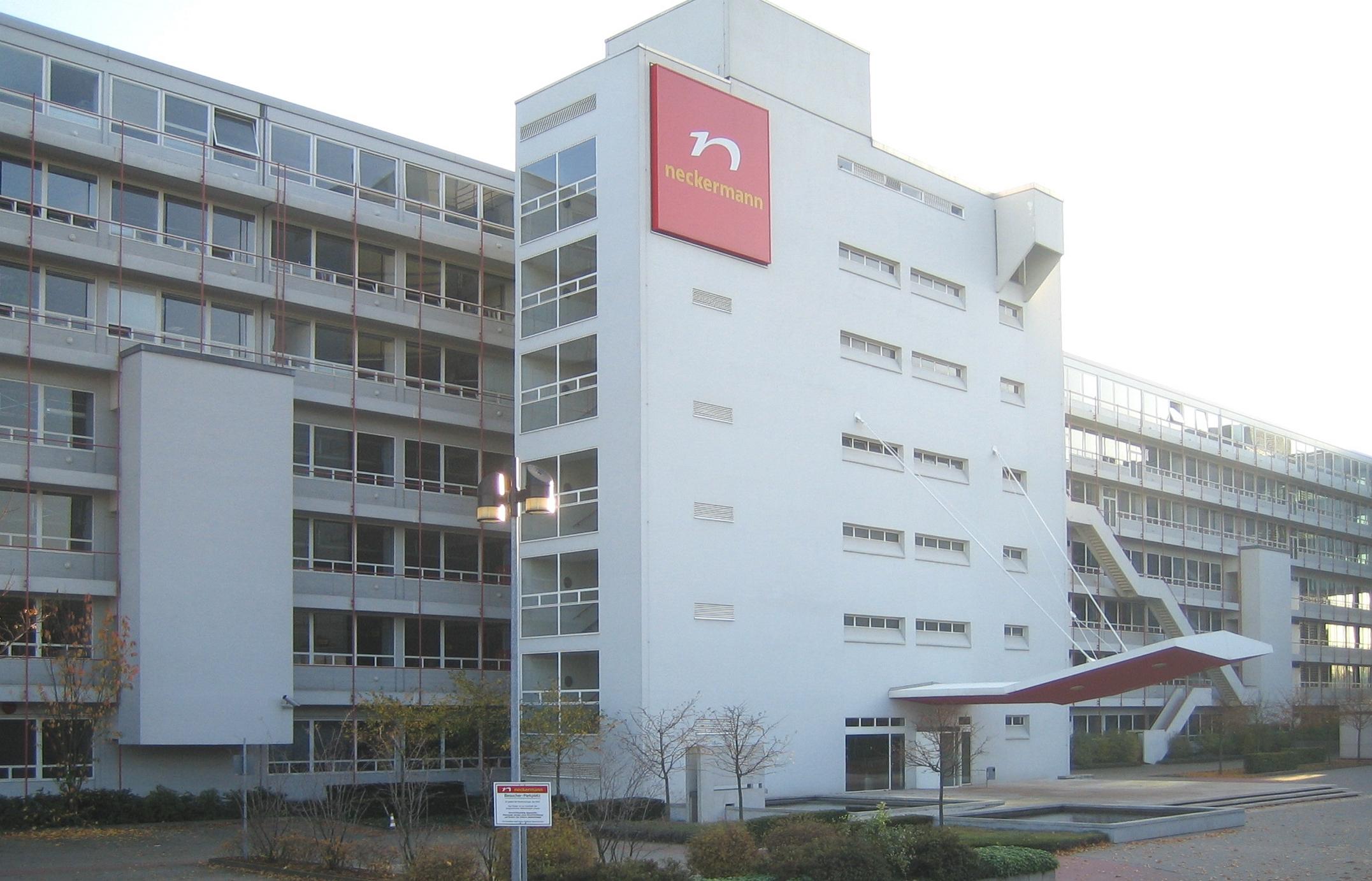 Frankfurt am Main, Neckermann-Gebäude (Egon Eiermann, 1958-61)