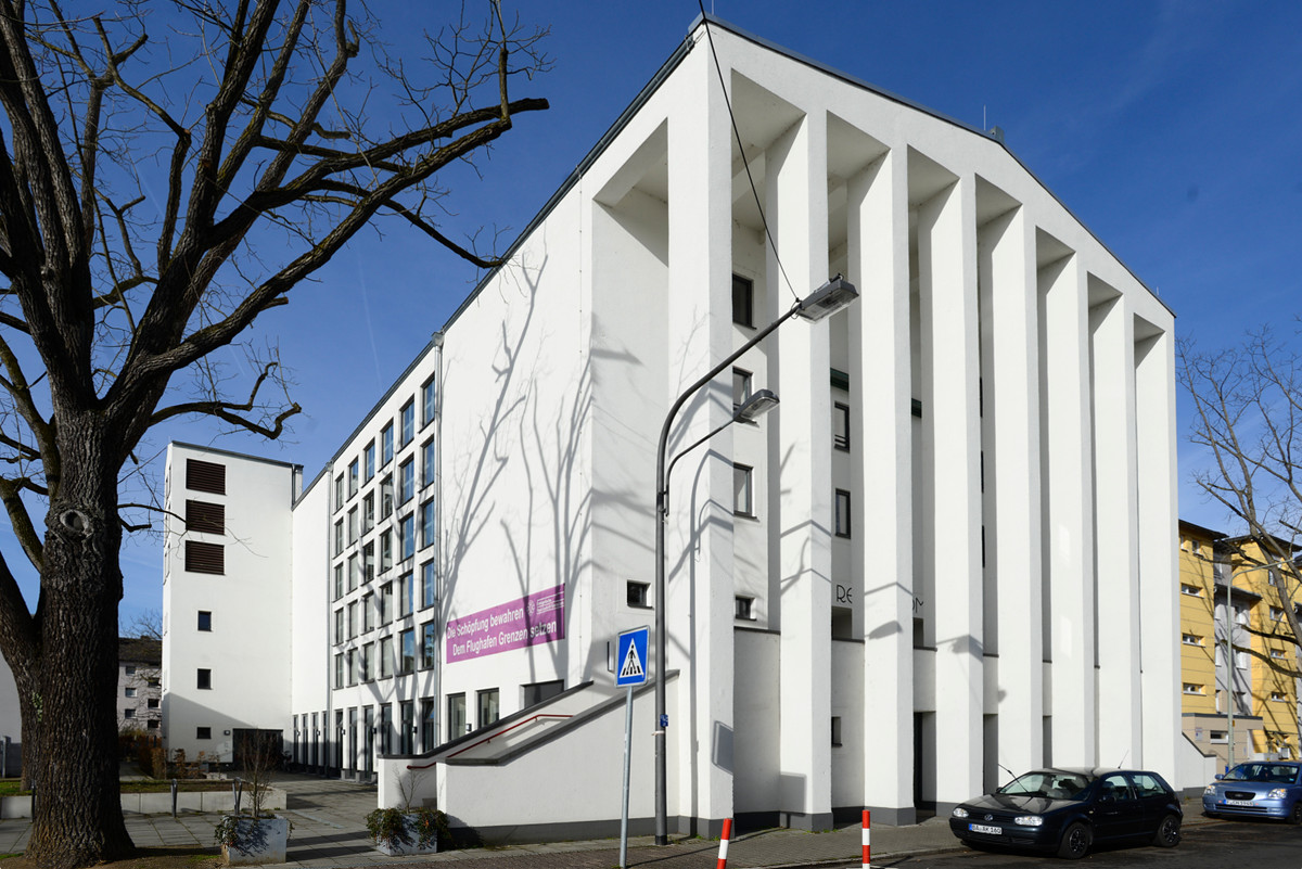 Frankfurt-Niederrad, Paul-Gerhardt-Gemeindehaus (Bild: Andreas Beyer)