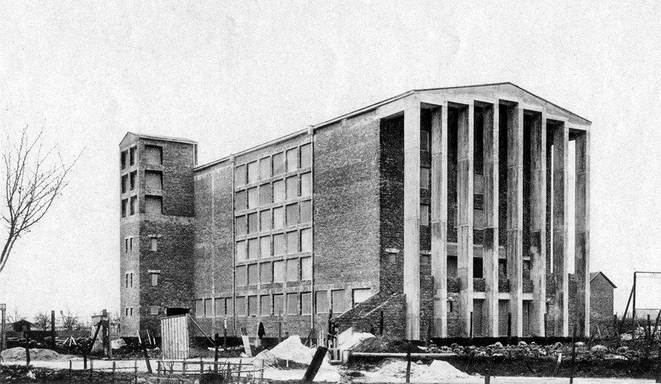 Frankfurt-Niederrad, Paul-Gerhardt-Gemeindehaus (Bildquelle: Bauwelt, 1930)