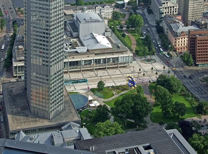 Das Frankfurter Schauspiel mit seiner Erweiterung von 1963 (Bild: dontworry, CC BY SA 3.0)