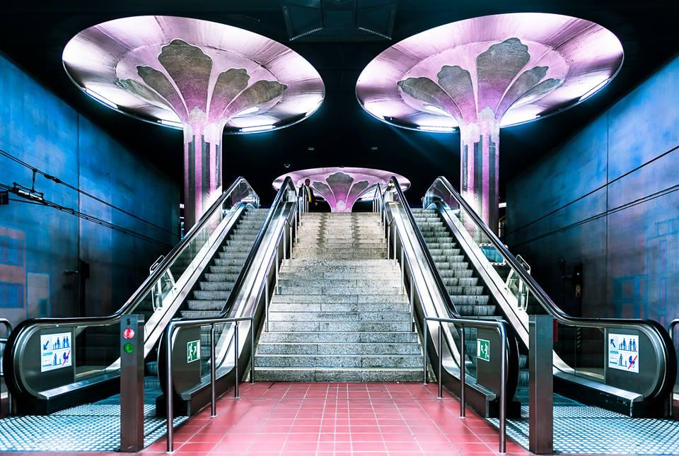 """Frankfurt, U-Bahnhof """"Westend"""" (Bild: Gregor Zoyzoyla)"""
