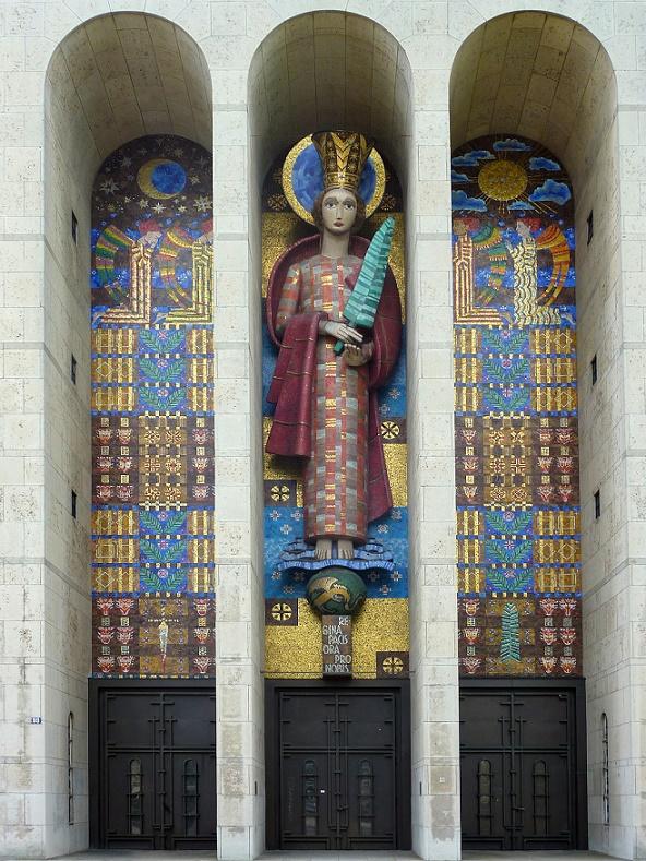 Frankfurt, Frauenfriedenskirche (Bild: Frank Behnsen, GFDL oder CC BY SA 3.0)