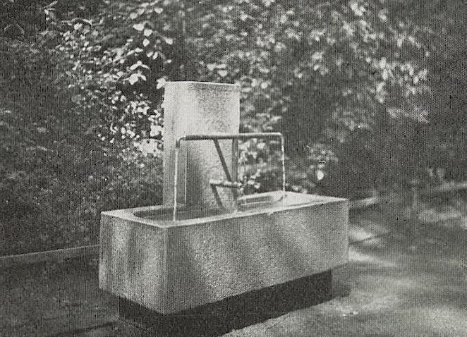 Frankfurt am Main, Brunnen (Quelle: Das Neue Frankfurt 9, 1929, Universitätsbibliothek Heidelberg, CC BY SA 3.0)