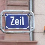 Straßenschild der Frankfurter Zeil (Bild: Melkom, GFDL oder CC BY-SA 3.0)
