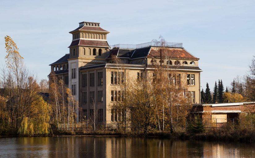 Freiberg, Porzellanfabrik (Bild Unukorno, CC BY 4.0)