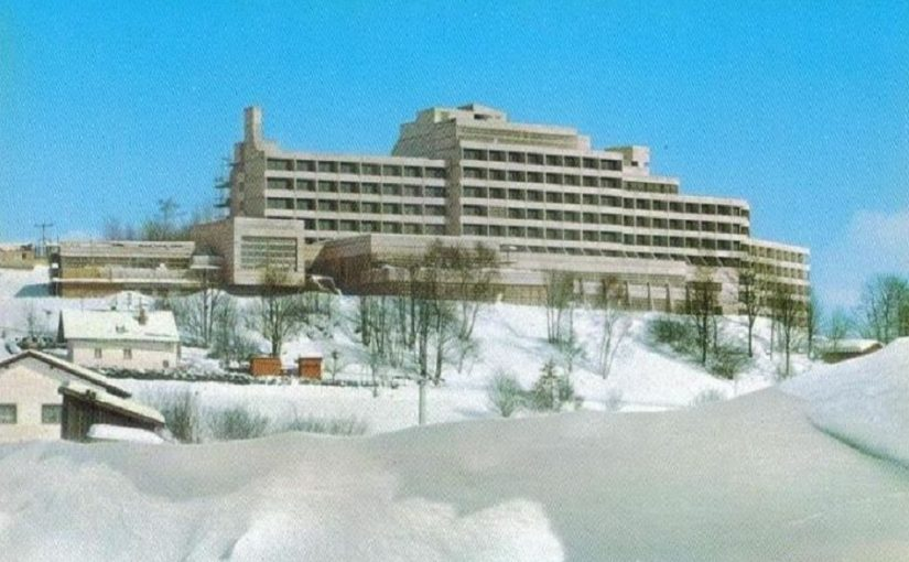 Freyung, Gesa-Kurhotel (Bild: historische Postkarte)
