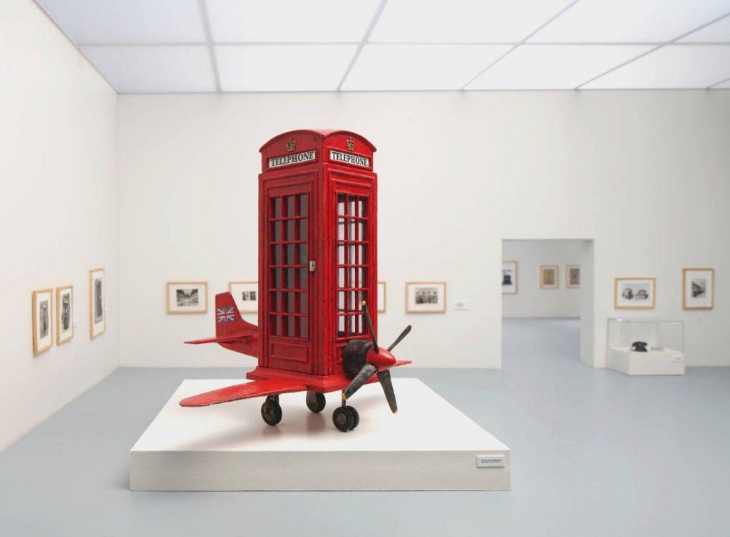 Frank Kunert: Frühes Modell eines Mobiltelefons (Copyright: Frankf Kunert)