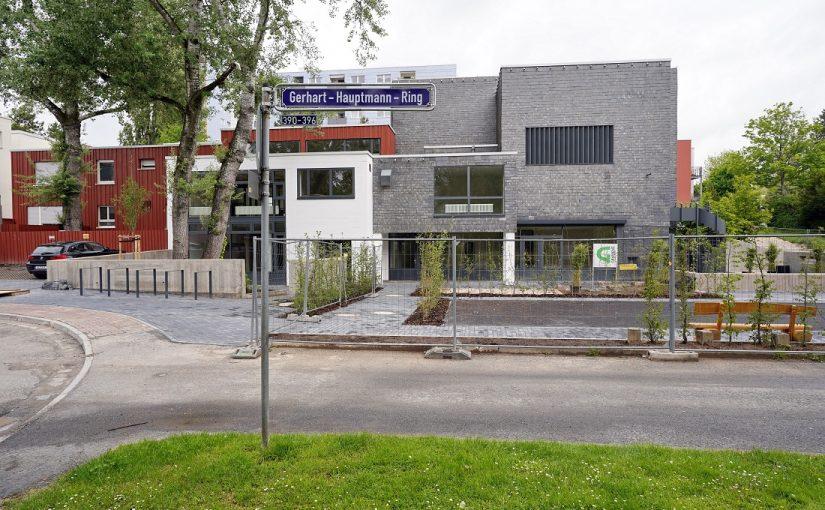 Frankfurt: Das Ev.-Ref. Gemeindezentrum ist fertig