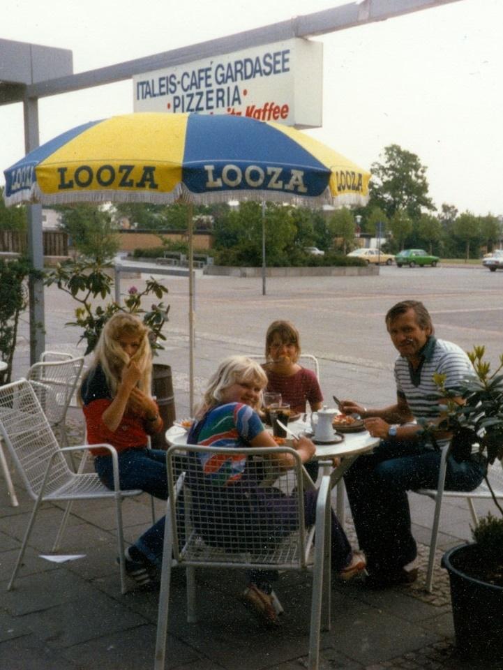 """Garbsen, """"Auf der Horst"""", """"Café Gardasee"""", 1980 (Foto: privat)"""