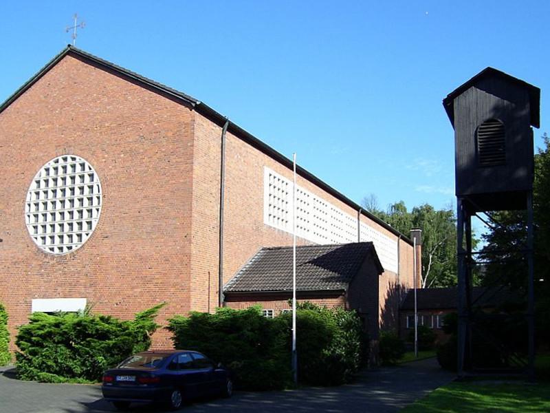 Gelsenkirchen-Resse, St. Hedwig (Bild: Heinz O., CC BY SA 3.0, 2010)