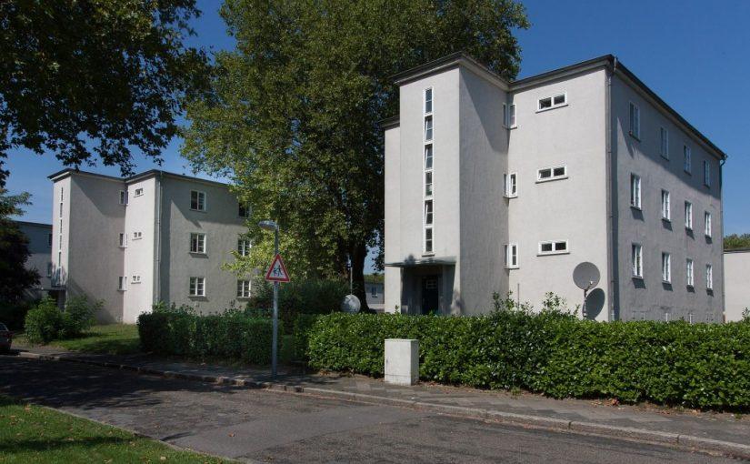 Gelsenkirchen, Siedlung Spinnstuhl von Josef Rings (Bild: W.Strickling, CC BY-SA 4.0)