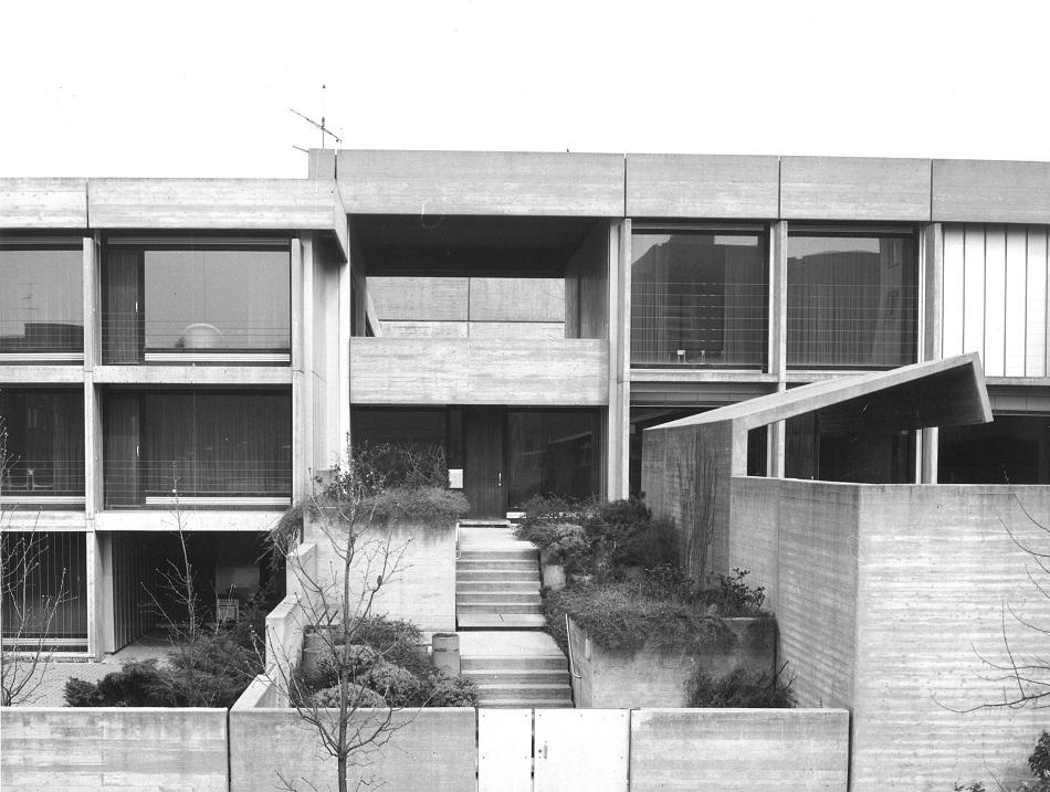 Heidelberg-Boxberg, Gemeindezentrum St. Paul von Lothar Götz (Bild: saai   Archiv für Architektur und Ingenieurbau am Karlsruher Institut für Technologie (KIT), Werkarchiv Lothar Götz, Foto: Frank Huster)