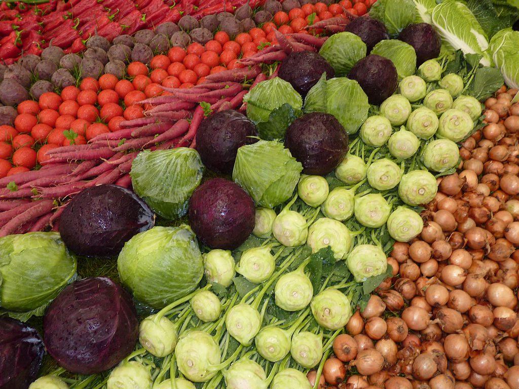 Gemüse (Bild: --Xocolatl, PD)