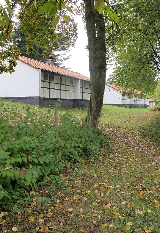 Wiederbesuch im westfälischen Blomberg, das heute von Flüchtlingen bewohnt wird (Foto: privat)