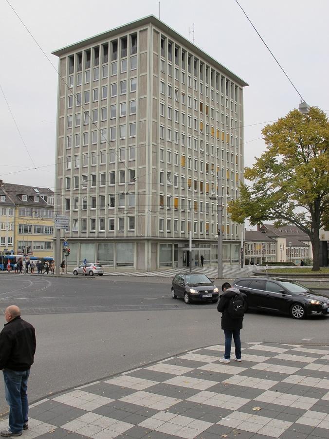 Kassel, Aufgang zur Treppenstraße (1947-53, Werner Hasper), 2016 (Bild: privat)