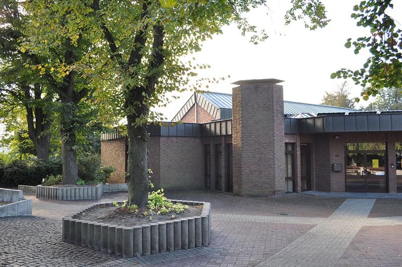 Mülheim, Gemeindehaus der Johannisgemeinde im Jahr 2016 (Bild: Horst Bredenbeck)