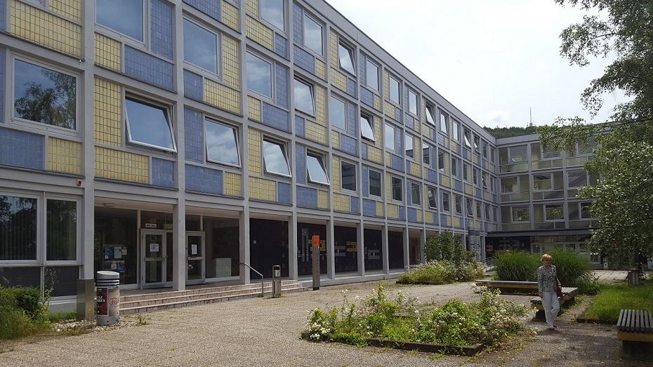 In Saarbrücken im Archäologischen Institut im Sommer 2016 (Bild: privat)