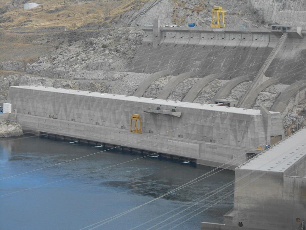 Grand-Coulée-Damm, Turbinenhalle (Bild: Benjamin Brendel)