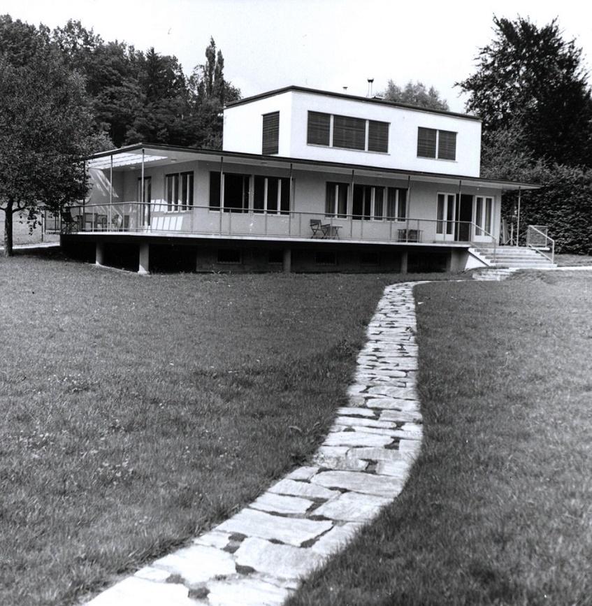 Das Haus Albrecher-Leskoschek in Graz (Bild: Sammlung Heimo Halbrainer, Nachlass Max v. Wikullil, Graz)