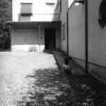 Das Haus Albrecher-Leskoschek in Graz: der Eingangsbereich mit Garage (Bild: Sammlung Heimo Halbrainer, Nachlass Max v. Wikullil, Graz)
