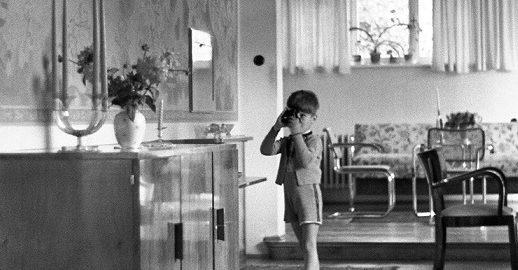 Graz, Haus Albrecher-Leskoschek (Herbert Eichholzer, 1938) (Bild: historische Aufnahme)