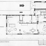 Das Haus Albrecher-Leskoschek in Graz: das Erdgeschoss (Bild: Archiv der TU Graz, Sammlung Herbert Eichholzer)