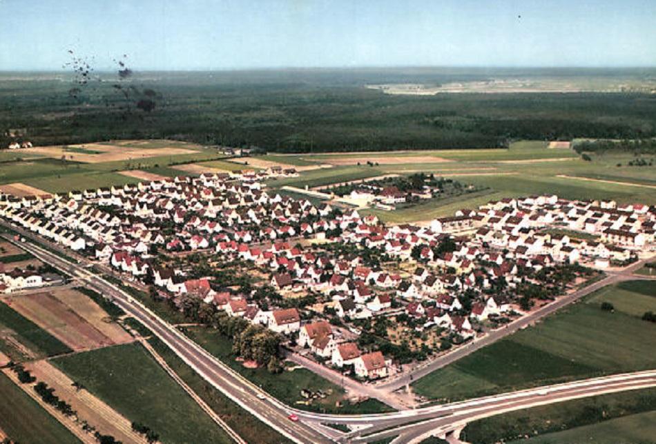 Groß-Gerau, Nordsiedlung (Bild: historische Postkarte, Bild: historische Postkarte, Cramers Kunstanstalt Dortmund)