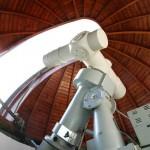 Coudé-Refraktor der Sternwarte des Planetariums auf der Peißnitzinsel in Halle (Saale) (Bild: Stadt Halle (Saale), Thomas Ziegler)