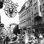Halle, Klement-Gottwald-Straße, Fußgängerzone, 1986 (Bild: Bundesarchiv Bild 183-1986-0724-008, CC BY SA 3.0.de, Foto: Thomas Lehmann)