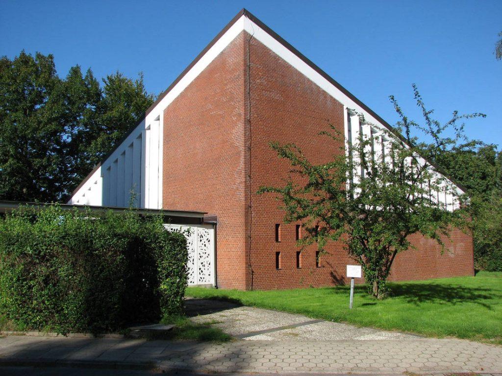 Hamburg-Horn, Rimbertkirche, 2006 (Bild: Claus-Dieter Otto, Hamburg)