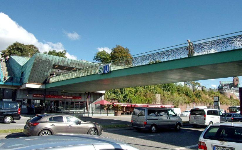 Bahnhof Landungsbrücken saniert