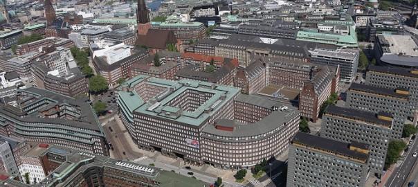 Hamburg, Cityhof (Bild: Alchemist-hp, CC BY SA 3.0)