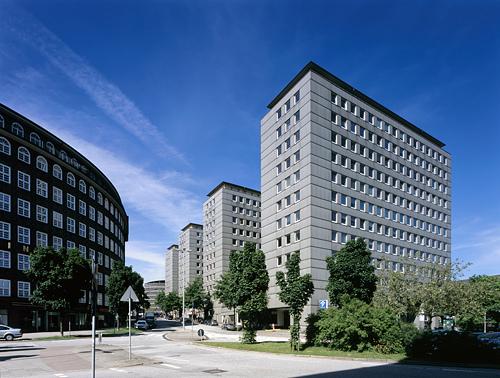 Hamburg, Cityhof (Bild: Hagen Stier)