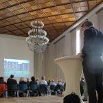 """Hamburg, Haus der """"Patriotischen Gesellschaft von 1765"""", Symposion """"Denkmalpflege für die Stadt der Zukunft"""", Juni 2016 (Bild: K. Berkemann)"""
