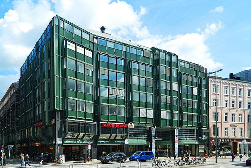 Hamburg, Gänsemarktpassage (Bild: hh oldman, CC BY SA 3.0, 2013)