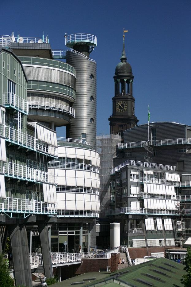 Hamburg, Grunner und Jahr-Gebäude (Bild: Lukas, München (Flickr), CC BY 2.0)