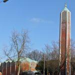 Hamburg-Horn, Kapernaumkirche (O. Kindt, 1961), 2013 (Bild: Dirtsc, CC BY SA 3.0)