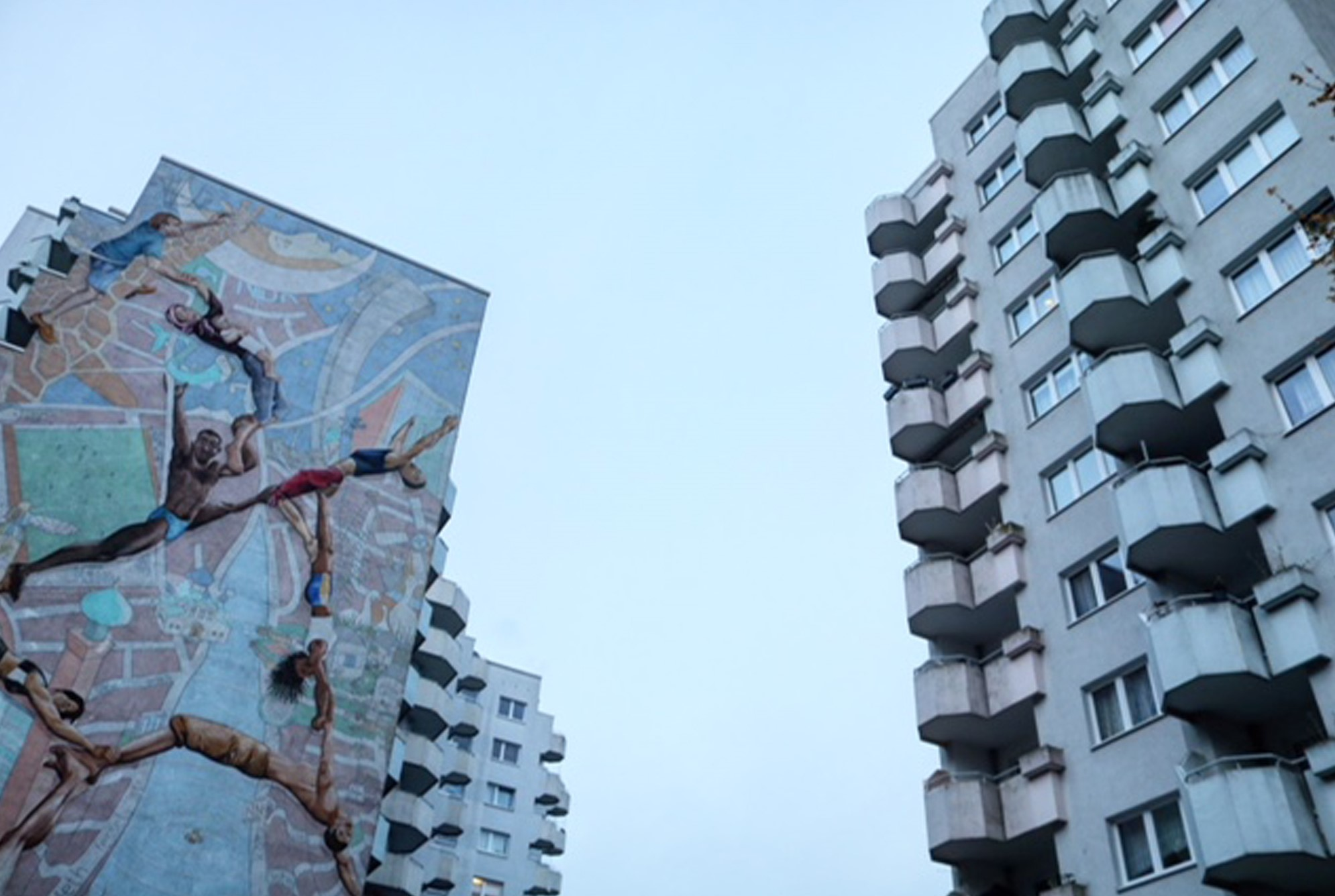 "Hamburg, Lenzsiedlung (Bild: Initiative ""Filme aus Beton"", Hamburg)"