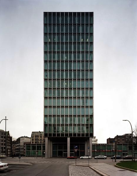 Hamburg Süd Hochhaus 1, 1958-64, Willy-Brandt-Straße in Hamburg (Foto: Oliver Heissner, 2000)