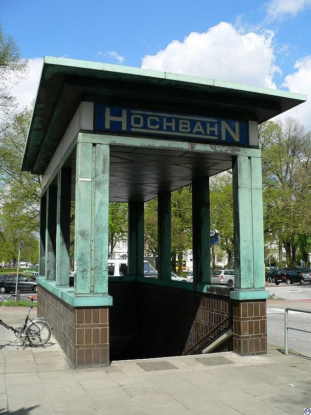 Hamburg, U-Bahn-Station Klosterstern (Bild: Wolfgang Meinhart)