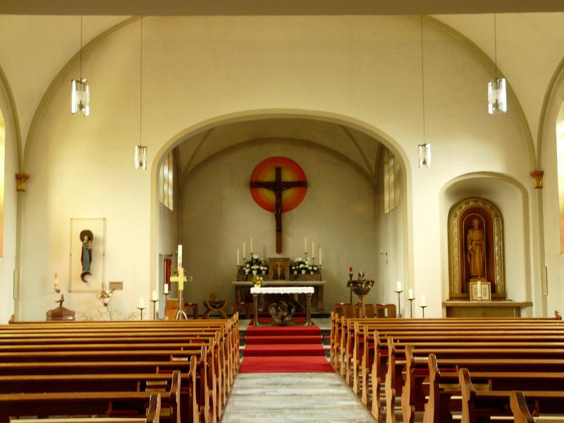 Hamm-Bockum-Hövel, Herz Jesu (Bild: Martin H. Brunsmann, CC BY NC SA, 2012)