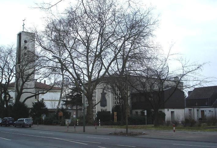 Hamm-Uentrop, Herz Jesu (Bild: Andreas Schulte, gemeinfrei, 2008)