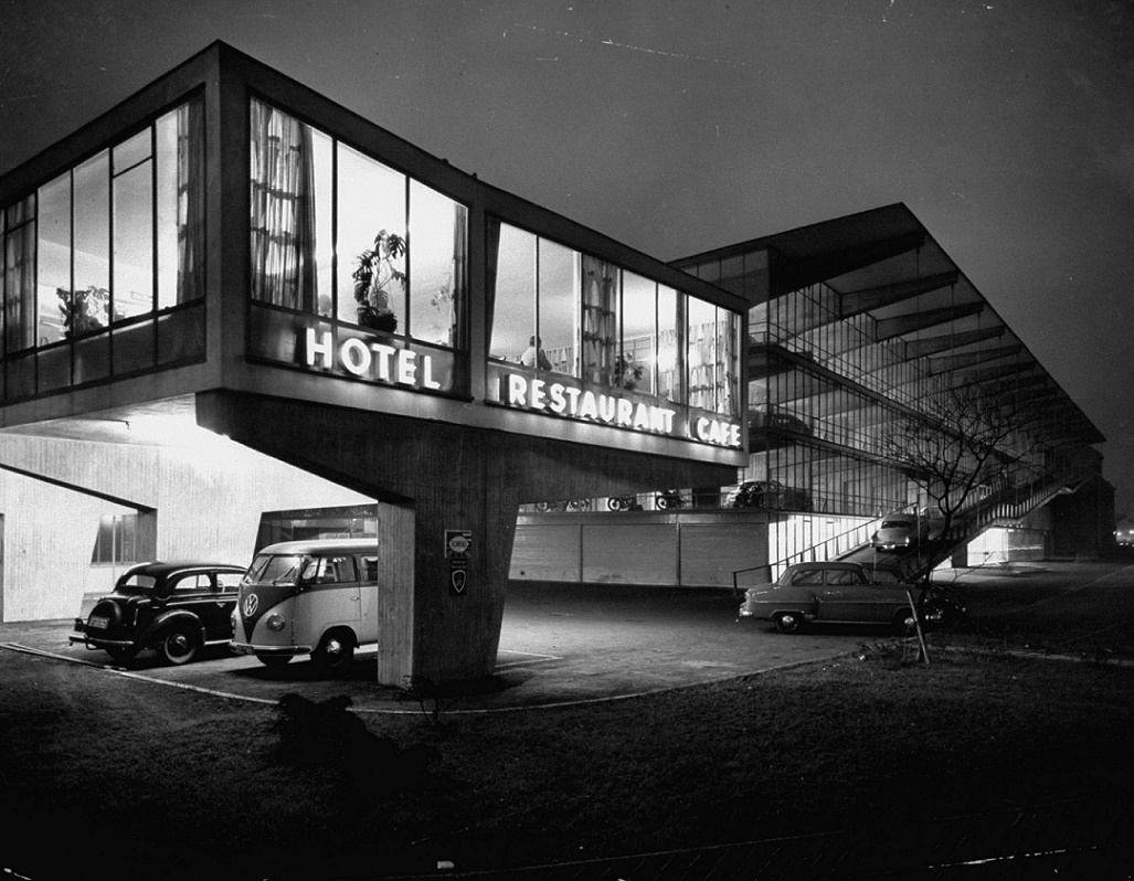 Düsseldorf, Hanielsgarage (Bild: Ralph Crane/The LIFE Picture Collection/Getty Images)