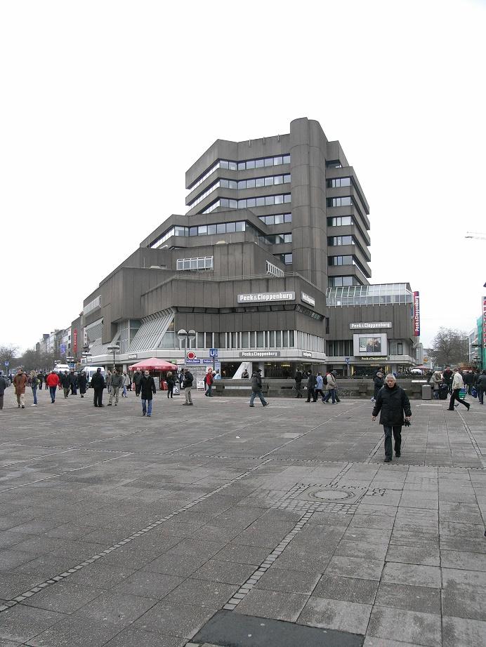 Hannover, Kröpcke-Center vor dem Umbau, 2009 (Bild: R. Dorn)