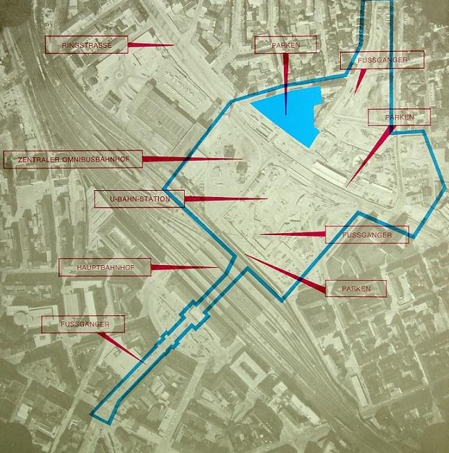 City – Raschplatz – Hannover, Broschüre Bredero-Gruppe, 1971 (Quelle: Archiv R. Dorn)