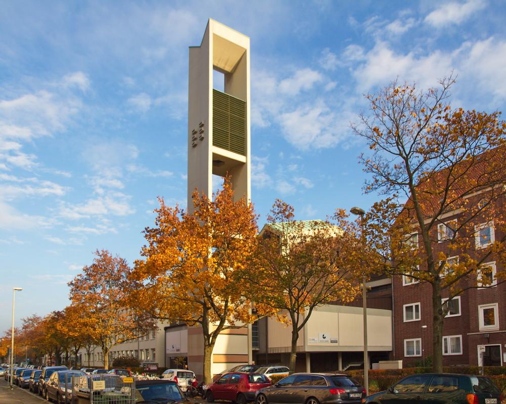 Hannover, Athanasiuskirche (Bild: Losch, CC BY SA 3.0, 2011)