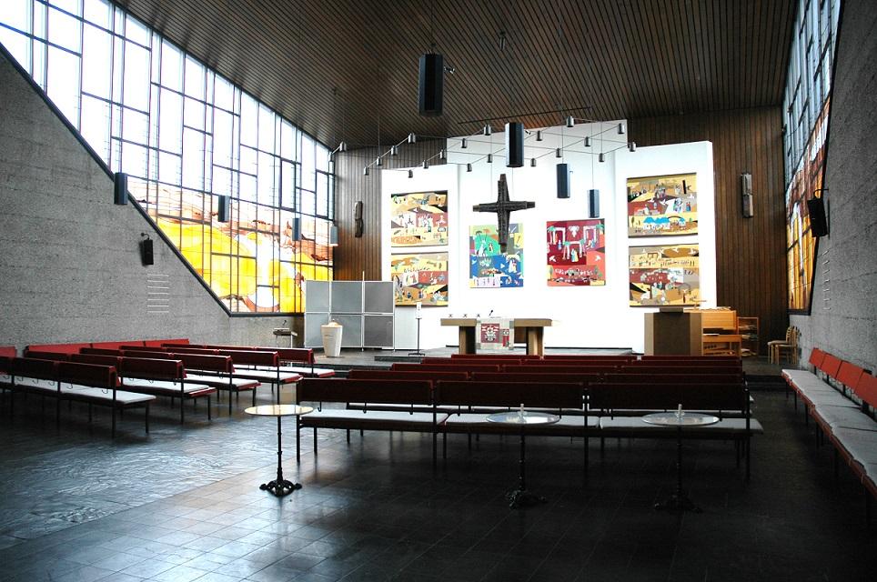 Hannover, Gustav-Adolf-Kirche (Bild: U. Knufinke)
