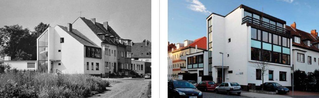 Hannover, E. F. Brockmanns Bürohaus (E. F. Brockmann, 1953) (Bildquelle: entstehende Publikation von Hartmut Möller)